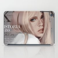 snk iPad Cases featuring SnK Magazine: Hisotria by putemphasis