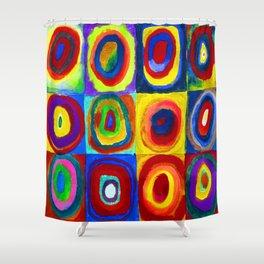 Wassily Kandinsky Color Study Shower Curtain