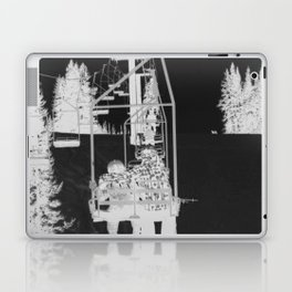 Inverted Ski Lift Laptop & iPad Skin