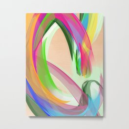 """C"" is for Colour Metal Print"