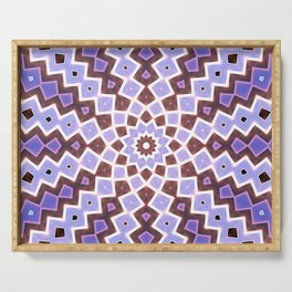 Purple Pink Serving Tray