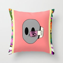 LB dbz scouter Throw Pillow