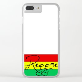 Reggae Right Clear iPhone Case