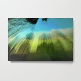 Abstract Victoria Park Costa Mesa CA Metal Print