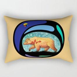 Zuni Bear Rectangular Pillow