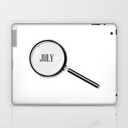 July Magnifying Glass Laptop & iPad Skin