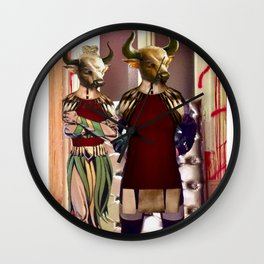 When you get home late for dinner Wall Clock