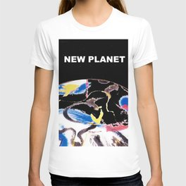 NEW PLANET     by    Kay Lipton T-shirt