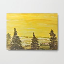 A yellow kind of day Metal Print