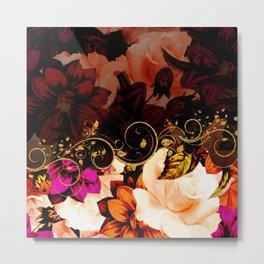 Wonderful flowers Metal Print