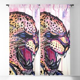 Leopard Scream Blackout Curtain