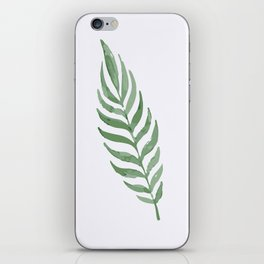 Lonely Leaf iPhone Skin