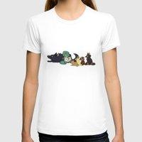 ohana T-shirts featuring Ohana by Madeoftin