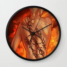 Scars - Celaena Wall Clock