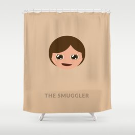 SW Han Solo The Smuggler Shower Curtain