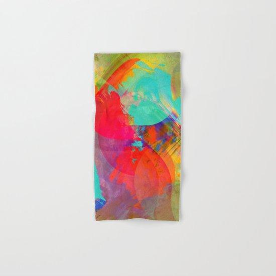 Multicolored abstract no. 27 Hand & Bath Towel