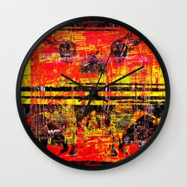 Red Wings Wall Clock