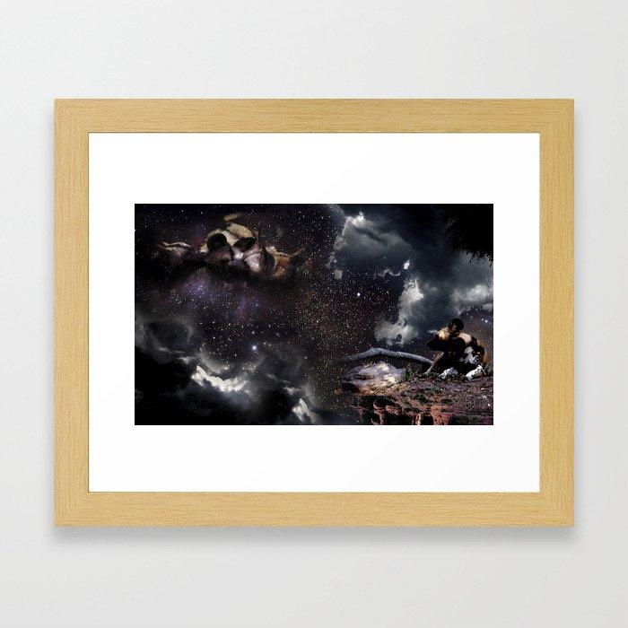 Memories Remain Framed Art Print