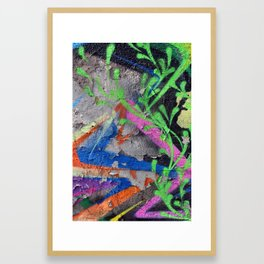 Color Entropy III Framed Art Print