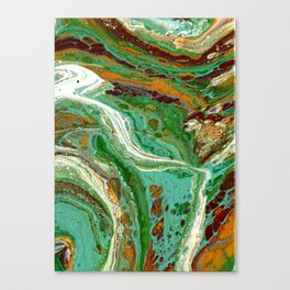 Forest Tide Canvas Print