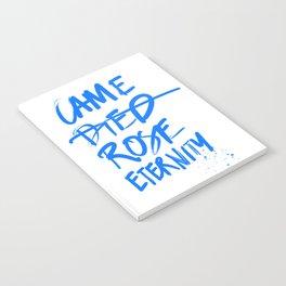#JESUS2019 - Came Died Rose Eternity (blue) Notebook