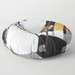 Proun 19d - El Lissitzky Floor Pillow