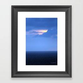 A Hole In Paradise  Framed Art Print