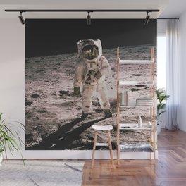 Astronaut Apollo Space Wall Mural