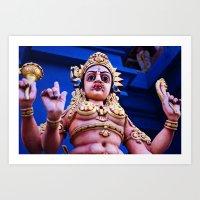 Sri Lanka | Hindu Temple Art Print