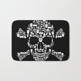 Skull Welder Equipment Bath Mat