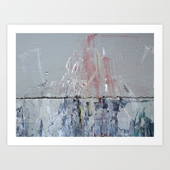 Urban Abstract 111 Art Print