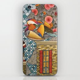 Rooftop Encounter iPhone Skin