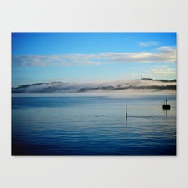 Fog rolling in... Canvas Print