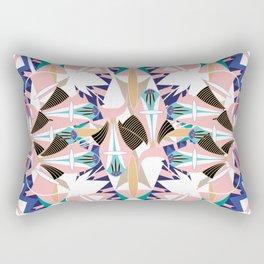 Abstract Boho Shapes I. Rectangular Pillow