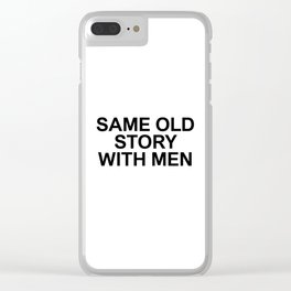 FACT 003 Clear iPhone Case