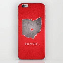 Ohio State Buckeyes iPhone Skin