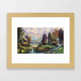 Lake Land Framed Art Print