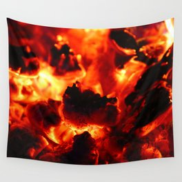 Hot Embers Wall Tapestry
