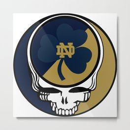The Dead in South Bend?  Apparently! Metal Print