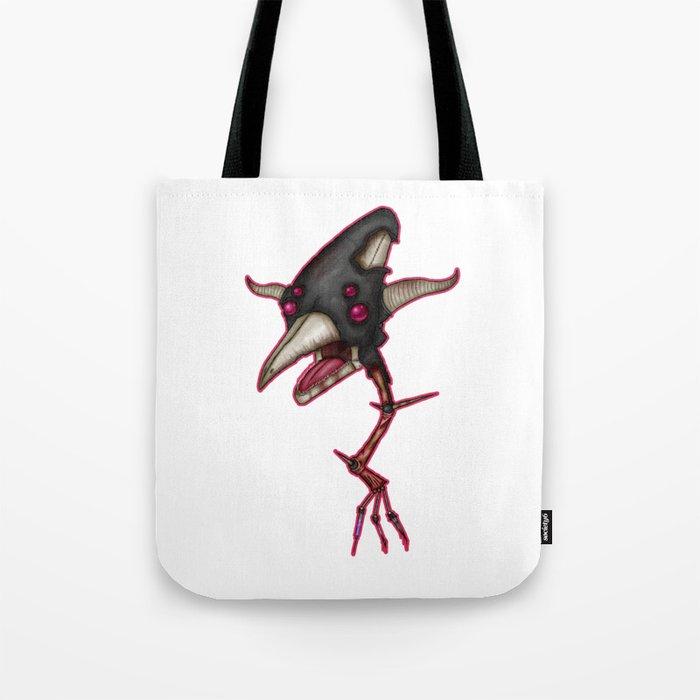 Black Deathswoop Tote Bag