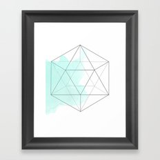 Platonic Water Framed Art Print
