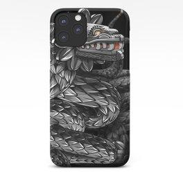Quetzalcoatl ( flying snake of Aztec ) iPhone Case