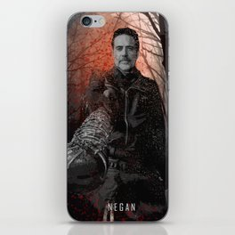 Negan - The Walking Dead iPhone Skin