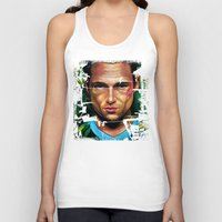 tyler durden Tank Tops featuring FIGHT CLUB - TYLER DURDEN by John McGlynn