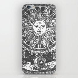 B&W Moon & Sun iPhone Skin
