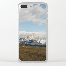 Iconic Towers of Patagonia Clear iPhone Case