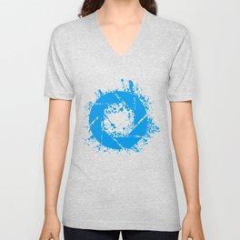 Portal Splatter Logo Unisex V-Neck
