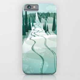 Winter Slope iPhone Case