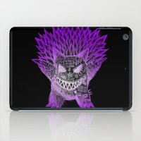 gengar iPad Cases featuring scratchy gengar  by cavia