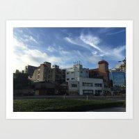 Japanese Architecture Art Print